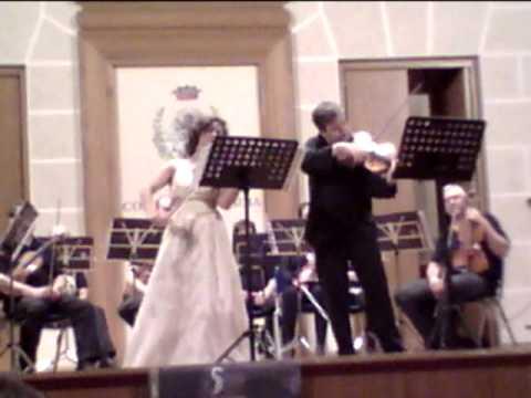 W.A. Mozart,Duo G - dur for v.no&viola; violin Yul