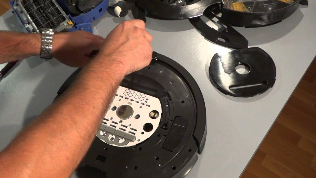 Roomba serie 700-800 paracolpi frontale con sensore