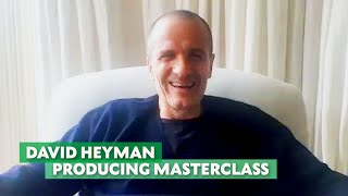 David Heyman on Producing Once Upon a Time in Hollywood, Gravity & Harry Potter | Masterclass