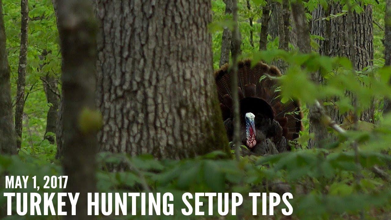 hight resolution of turkey hunter shot on video proper setup tips for turkeys spring thunder