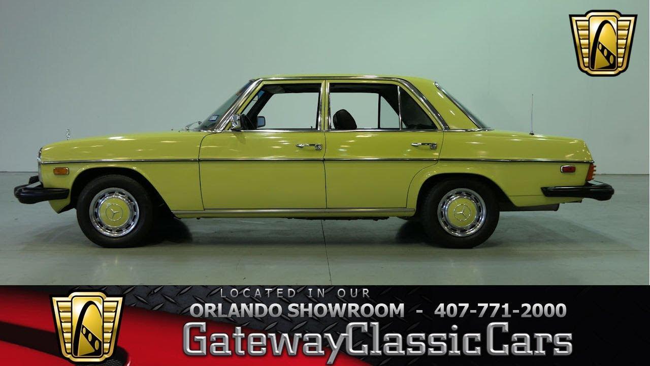 1976 Mercedes Benz 300D Gateway Orlando #1182