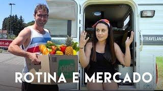 ROTINA DA MANHÃ na CASINHA e Compras no MERCADO | Travel and Share | Romulo e Mirella | T4. Ep. 203
