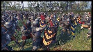 HUGE MEDIEVAL BATTLE! Medieval Kingdoms Total War (Total War Attila Mod)