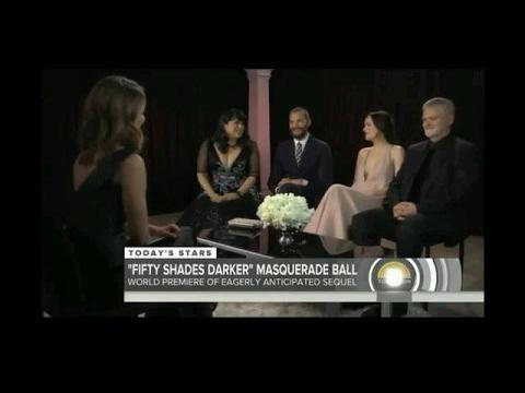 Fifty Shades Darker - Jamie Dornan and Dakota Johnson Interview on Today Show