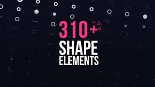 Motion Elements Pack | After Effects template