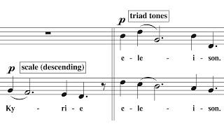 A look at Arvo Pärt's Compositional Technique