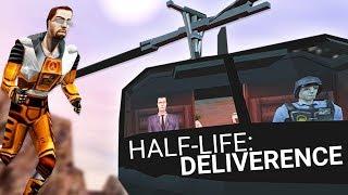 Я скачал мод на Half-Life - Deliverence