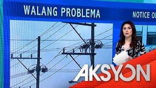 No power shortage