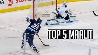 TOP 5 SUOMALAISTEN NHL MAALIT!!