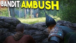BANDIT AMBUSH! - Kingdom Come Deliverance (Beta) #2