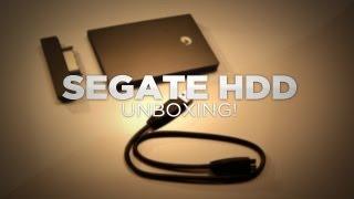 Seagate GoFlex External Hard Drive Unboxing