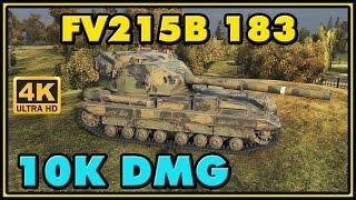 World of Tanks | FV215b (183) - 4 Kills - 10K Damage