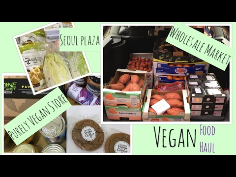 Impromptu Vegan Food Haul - 3 Stores In Birmingham