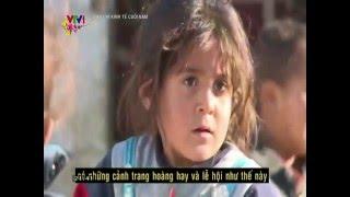 Cô bé Syria bật khóc khi hát về hòa bình trong The Voice Kid