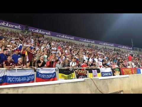 Сборная России - на Евро-2020! Как Кипр болел за наших