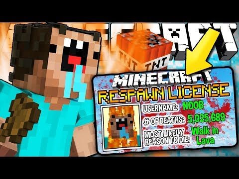 Thumbnail: If You Needed a RESPAWN LICENSE to Respawn - Minecraft