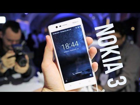 NOKIA 3 è lo smartphone Android economico da battere | ANTEPRIMA MWC 2017