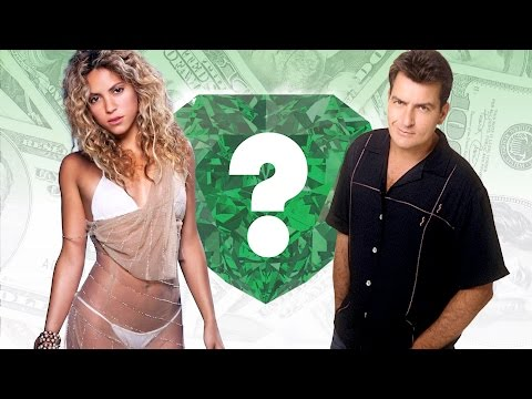 WHO'S RICHER? - Shakira or Charlie...
