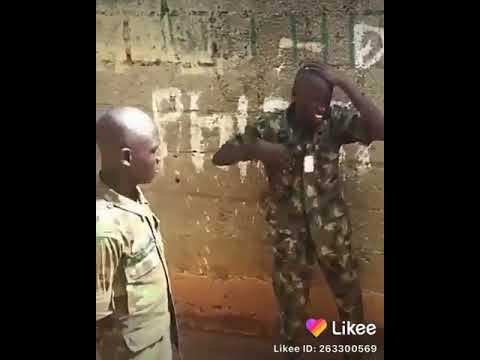 Download Na hii ndio moja kati ya adhabu za jeshini😲