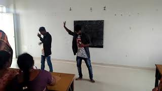 Sudharson arts collage sports day dance perfamance in ghalibali song