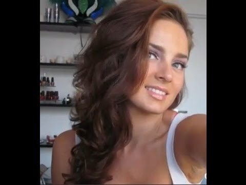 Side Swept Grecian Prom Hairstyle