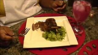 Rib Lamb Chops ( Chef Holly