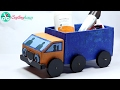 How to Make A Cardboard Kids Toy Truck with Waste Material Best Out of Waste