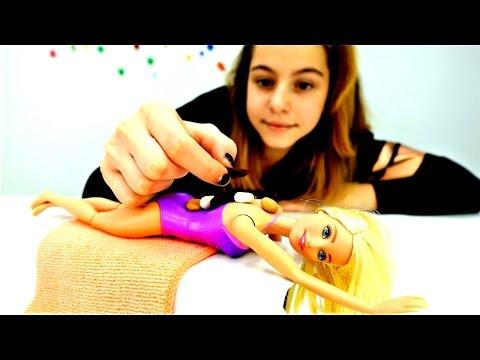 Спа салон для #Барби вместе с подружкой Викой