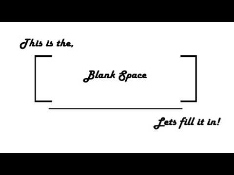 Blank Space Podcast - Episode 4 - For Glory