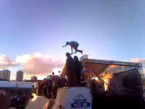 dropada mais alta do Curitiba Skate Jam