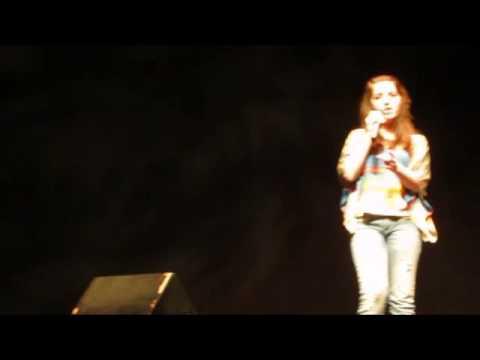 Robyn 2012 Berkshire Idol Semifinals Performance