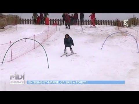 Torcy : Le ski en Seine-et-Marne