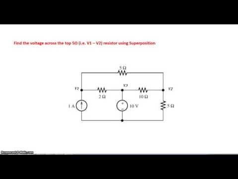 Circuit Analysis using Superposition principle