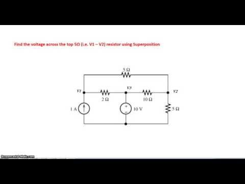 Circuit Analysis using Superposition principle