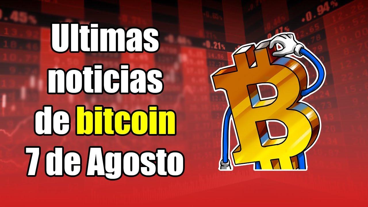 bitcoin cae, CME llega a nuevo record, VECHAIN alimentos, ETHEREUM 2.0, noticias 7 de agosto