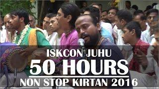 Hare Krishna Kirtan by Mathura Jivan Prabhu on Day 3 of ISKCON Juhu 50 hours Non Stop Kirtan 2016