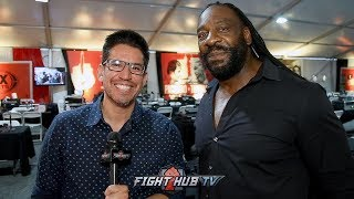 BOOKER T GIVES HIS PACQUIAO VS THURMAN BREAKDOWN & REVEALS THAT BOXING IS HIS PASSION