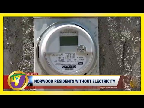 Norwood Residents in Montego Bay, Jamaica Without Electricity - June 21 2021