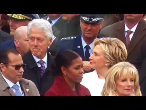 Bill Clinton Caught Checking Out Ivanka Trump