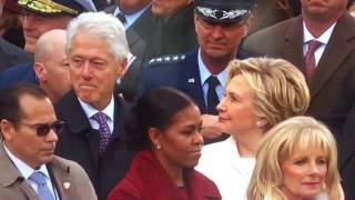Bill Clinton Caught Checking Out Ivanka Trump thumbnail