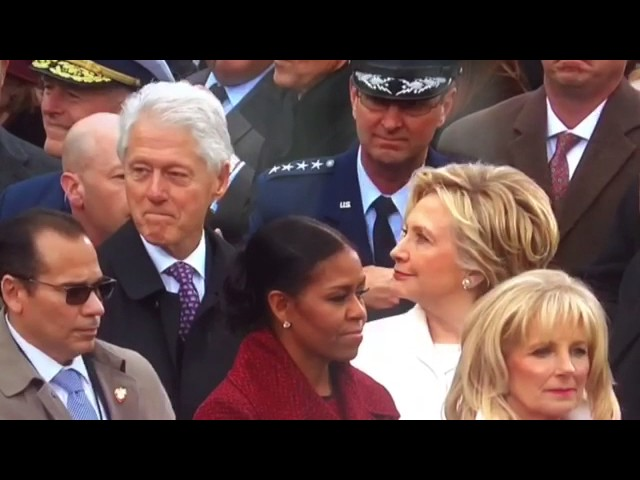 Bill Clinton Caught Checking Out Ivanka Trump