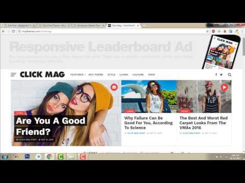 Post Options -  Click Mag Viral News and Magazine Theme    Wordpress Demo