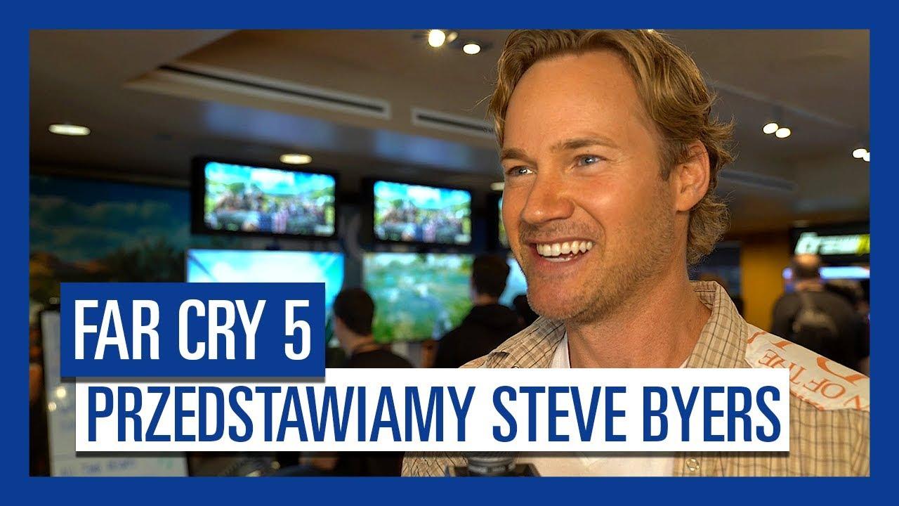 """""""Far Cry 5"""" – Przedstawiamy Steve Byers, głos Nick Rye"""