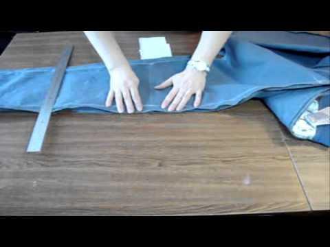 видео: Коррекция брюк от Татьяны Ботвинко