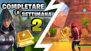 COME COMPLETARE LA SETTIMANA 2 ⭐ Fortnite Battle Royale Stagione 5 ⛏️ Pazzox