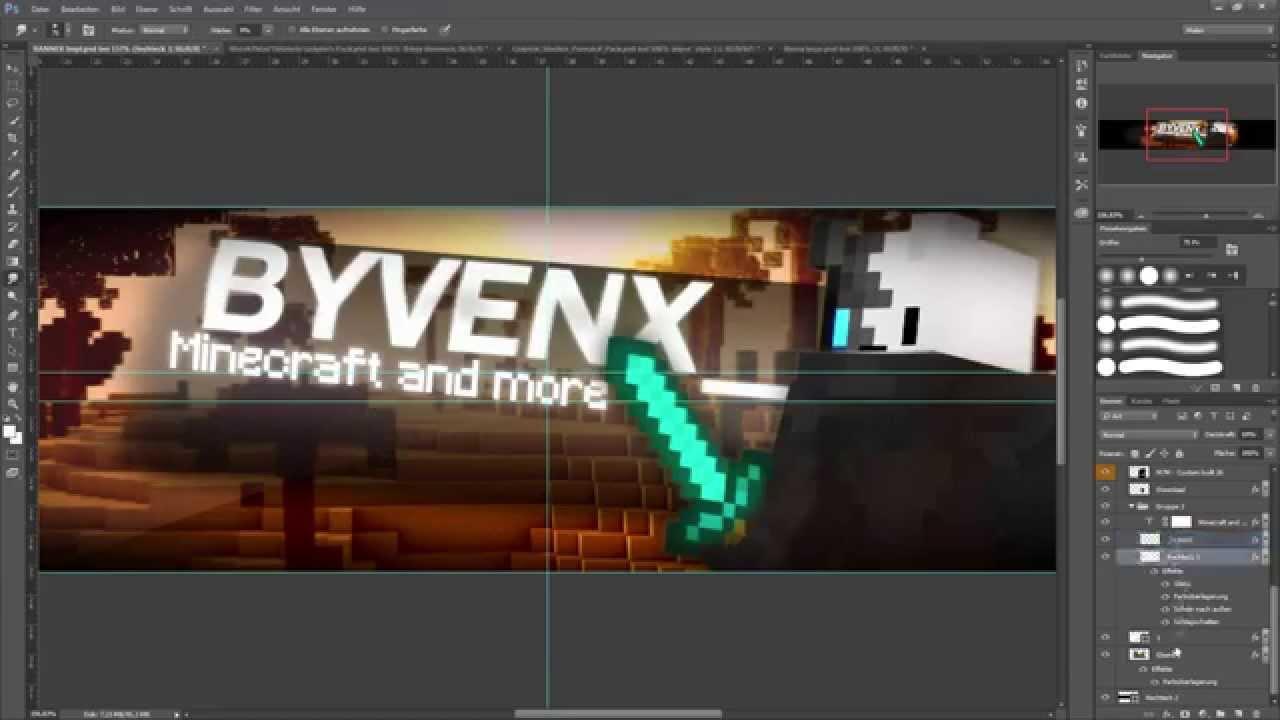 Kanal Banner Speedart By Rustyy ° Banner Designer - YouTube