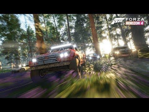 """Разработчики Forza Horizon 4 показали весенний сезон в игре и """"Зомби-режим"""""""
