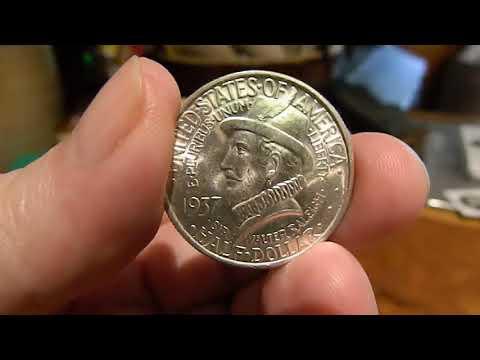 1937 Roanoke Early Commemorative Half Dollar.