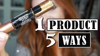 Drugstore 5-in-1 Creative Makeup Look