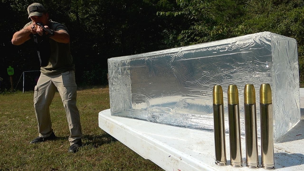 Elephant Rifle vs Ballistic Gel